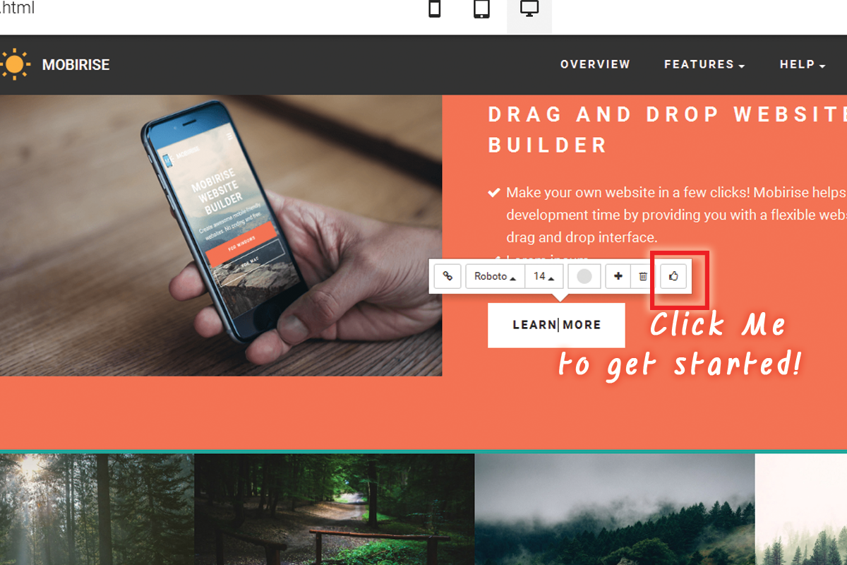 Drag and Drop Web Development Software Free Download