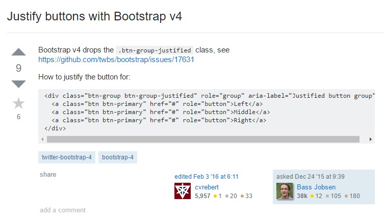 Maintain buttons  along with Bootstrap v4